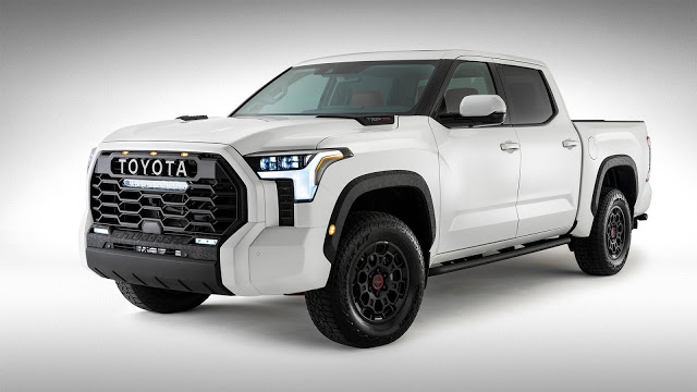 Toyota groß: der Toyota Tundra