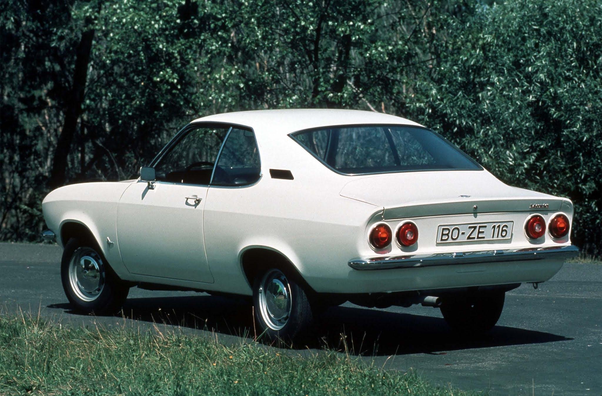 Opel Manta als Oldtimer / Youngtimer. Buchtipp für Anfänger