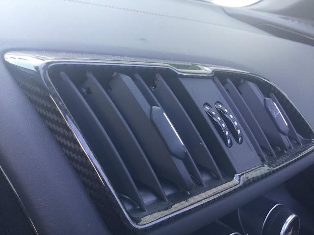 Carbon Details im Audi R8 performance