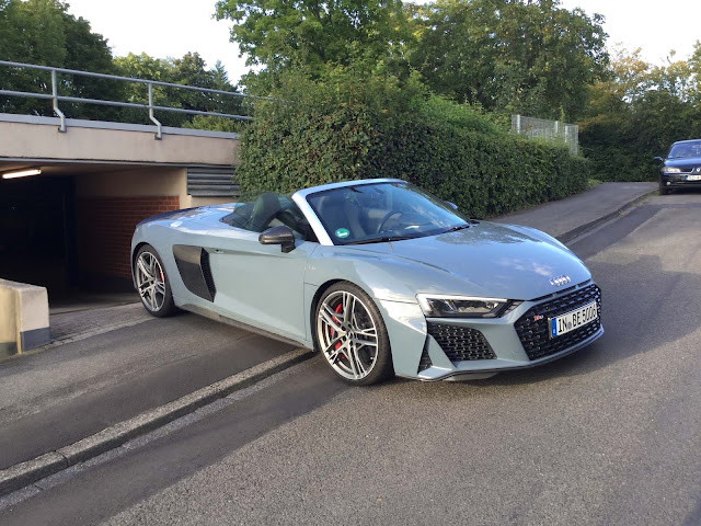 Audi R8 performance Test