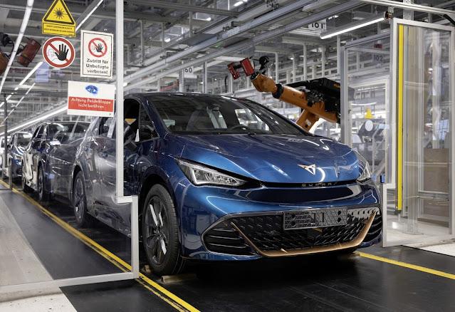 Roboter Fabrik Autoproduktion Zwickau