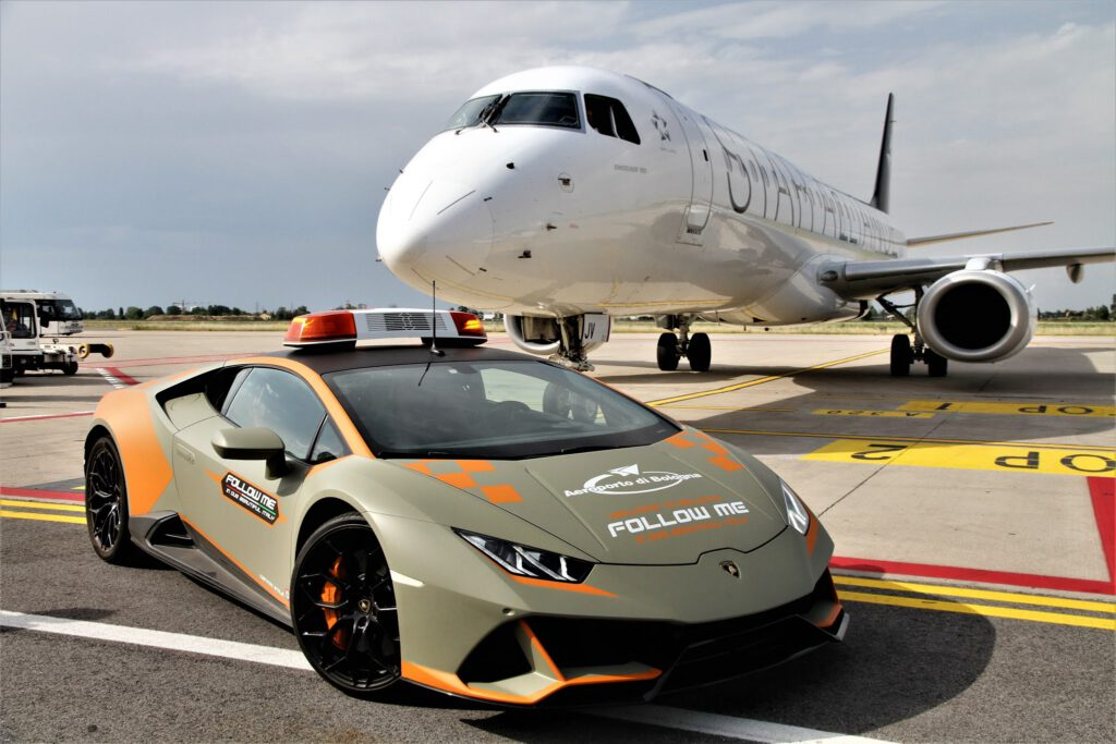 Lamborghini Follow Me Car