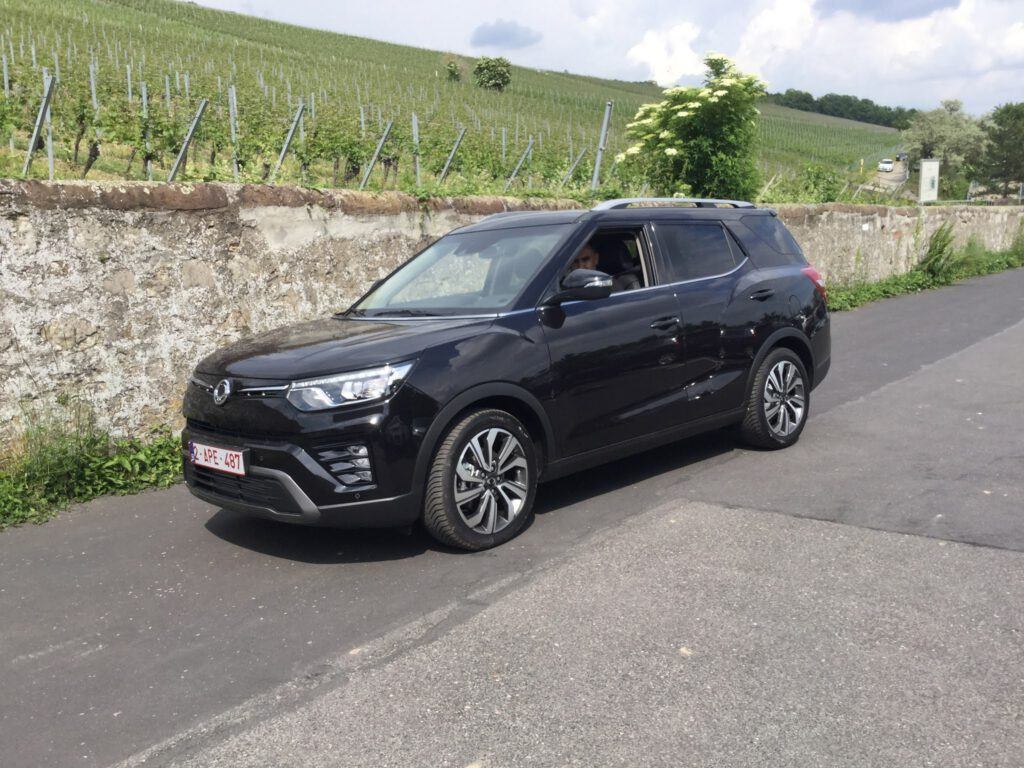 Neues Modell von Ssang Yong